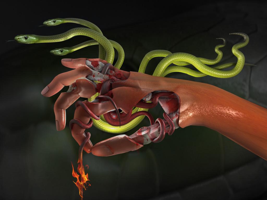 Schlangenhand 33
