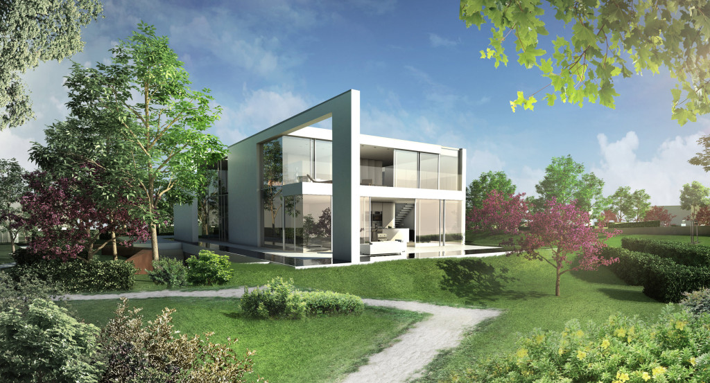 Villa und Herrenhaus in Dänemark