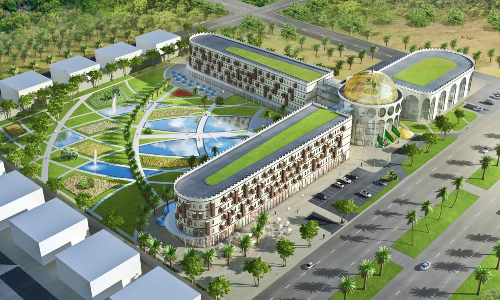 Projektentwicklung Hotel Anlage im Oman