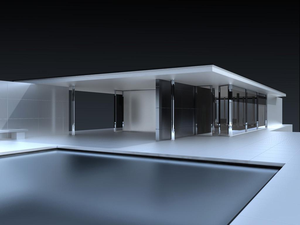 Barcelona Pavillon - Clean