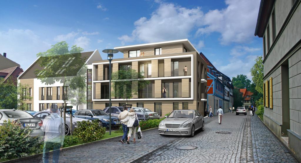 Mehrfamilienhaus in Aschersleben
