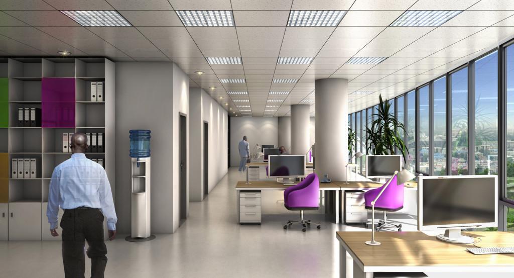 Office Nestoil in Abuja Afrika