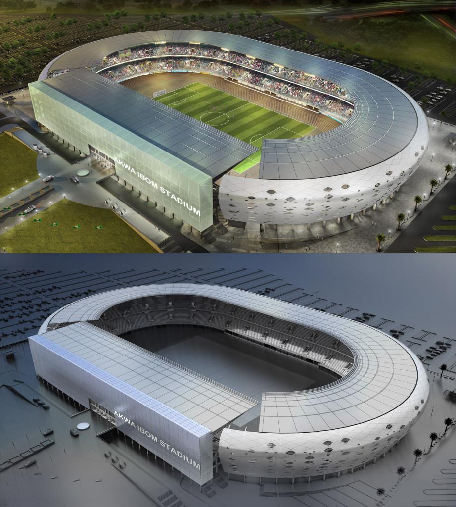 Uyo Fußball Stadion - Styles in Afrika