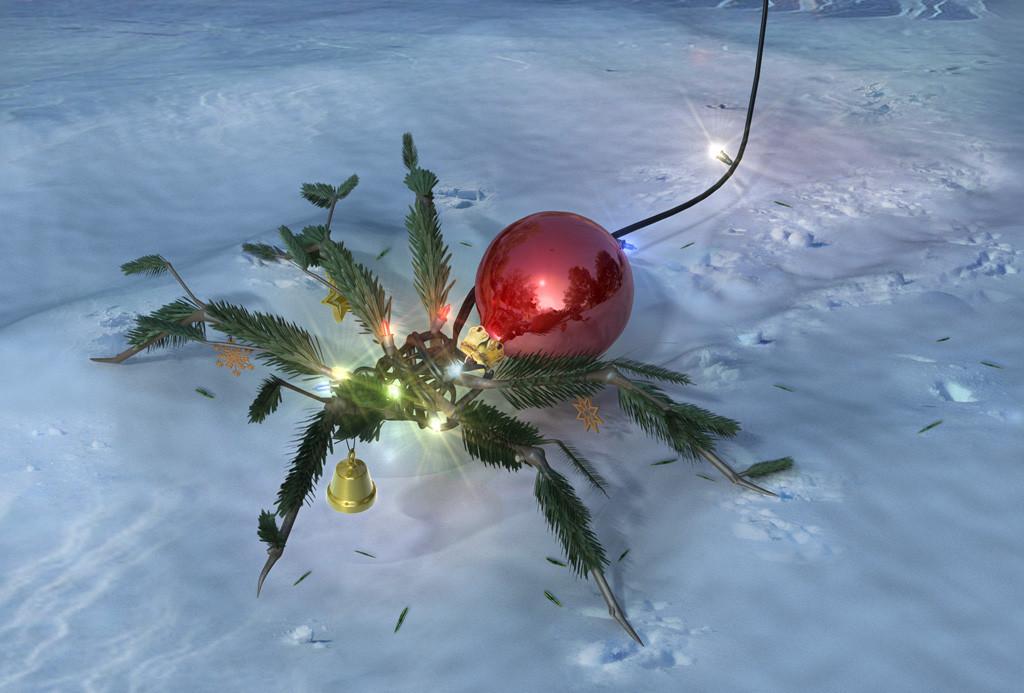 Weihnachtsspinne 2010