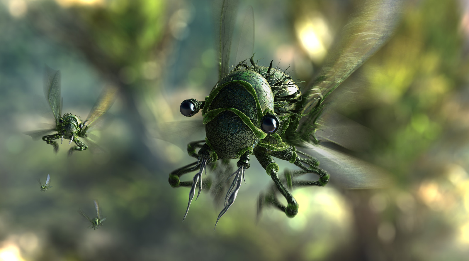 Instinct Structure Insect - Illustration Artwork