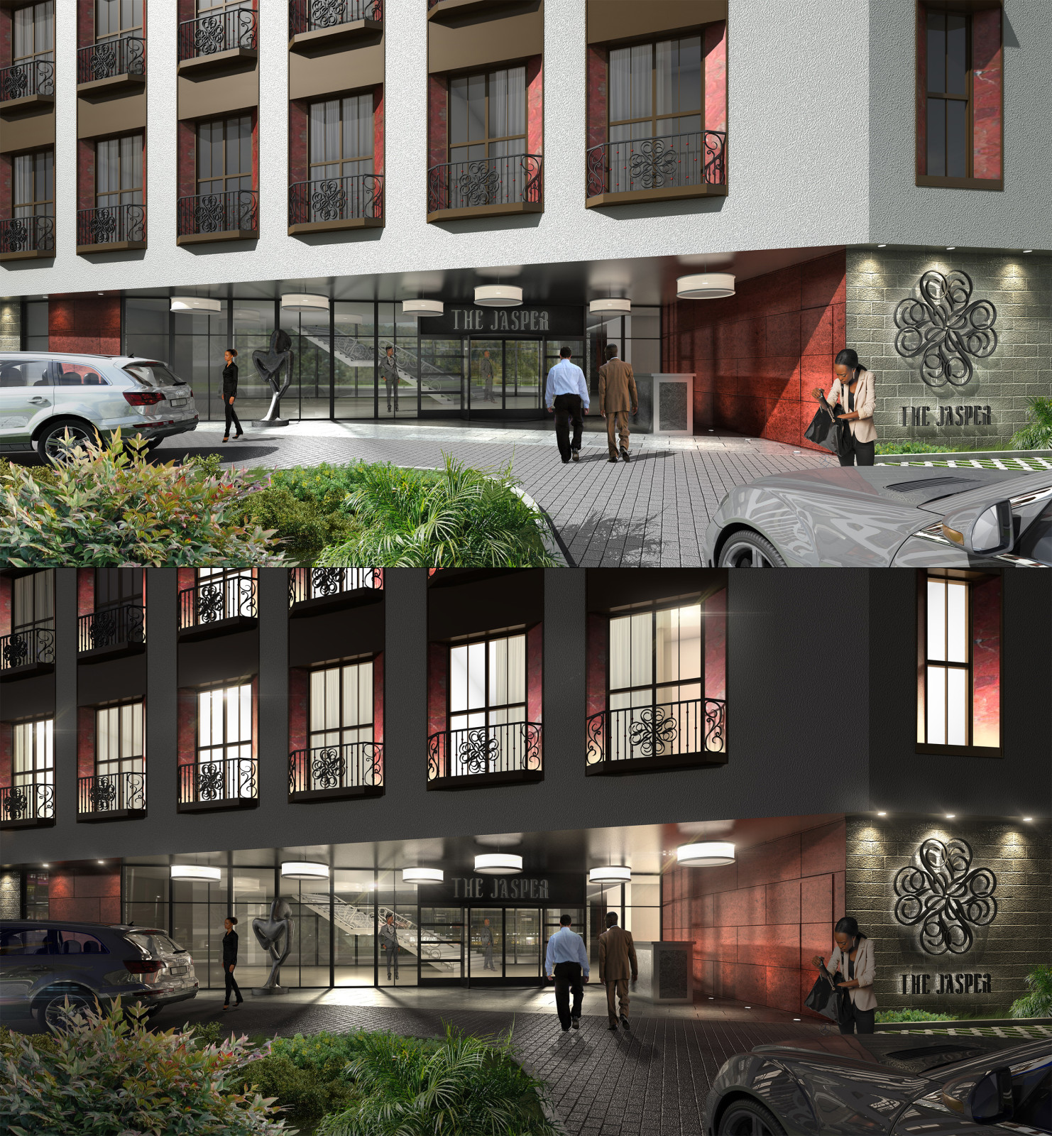 The Jasper Hotel - Entrance Design
