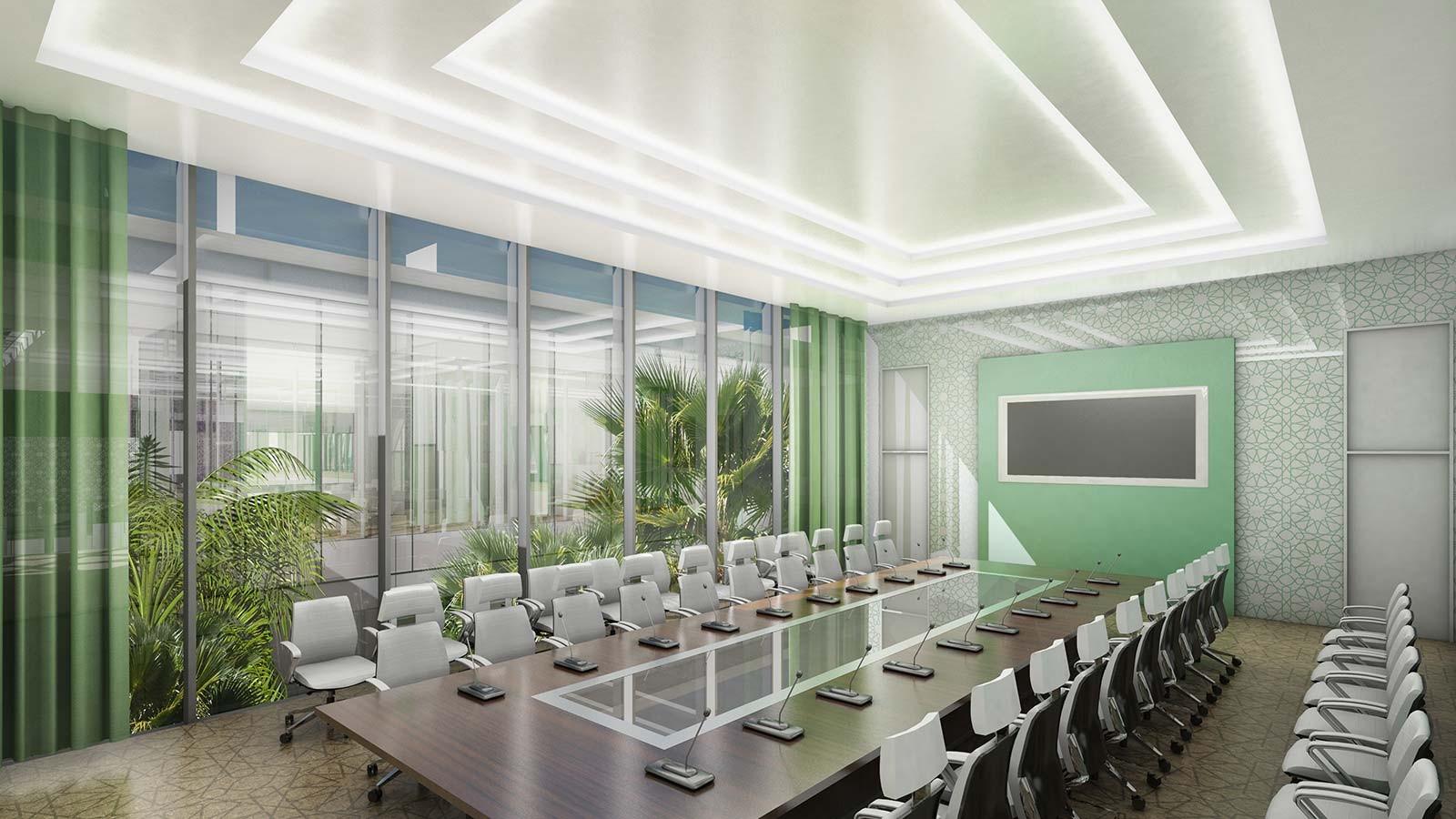 HRC Präsidenten Delegation Hall