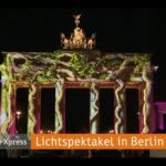 3D Visualisierung | 3D Animation - Videomapping Projektion - Berlin leuchtet Brandenburger Tor 09-2016