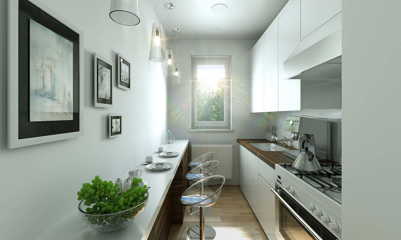 MWG Küche - Architekturvisualisierung Innenraum