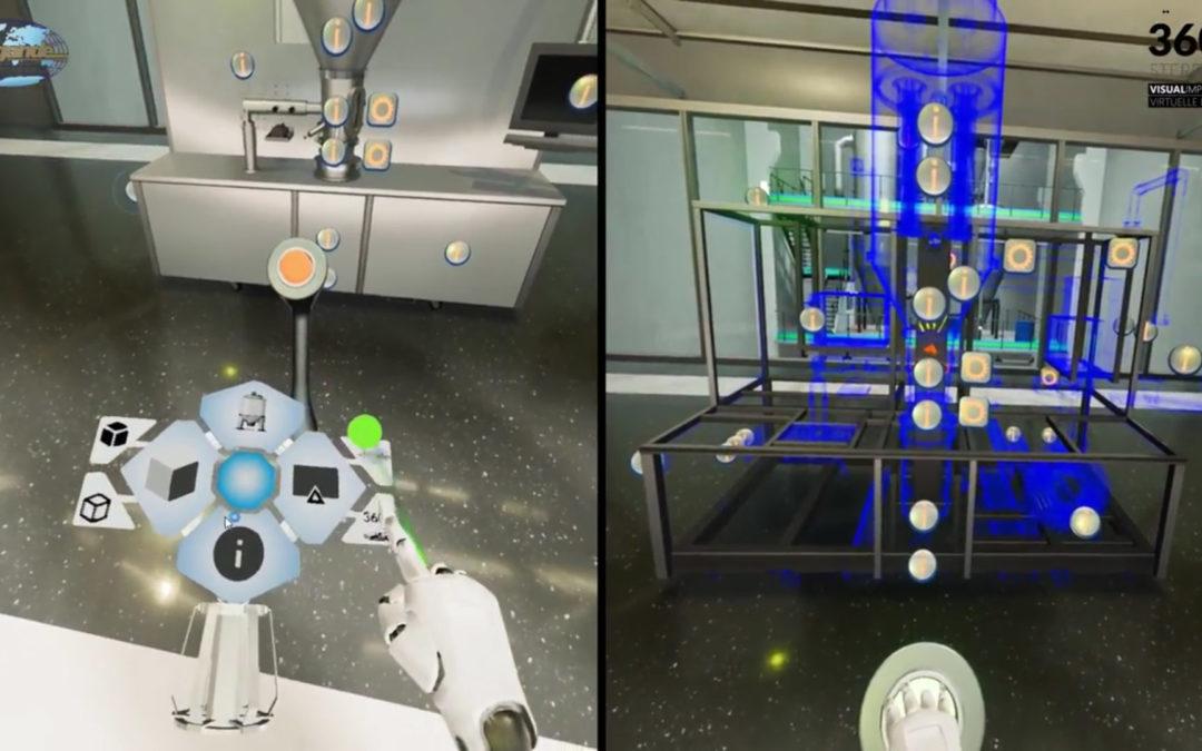 Virtuelle Realität Industrie Pergande Simulation