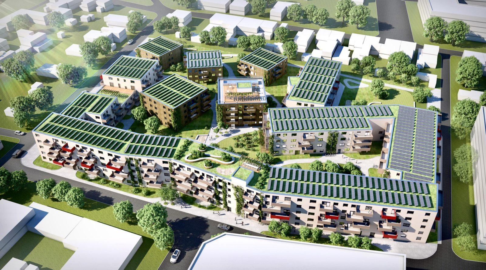 BTW Podhagskygasse III - Architekturvisualisierung  Aussen