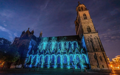 MDR Artikel zu Magdeburg in Light