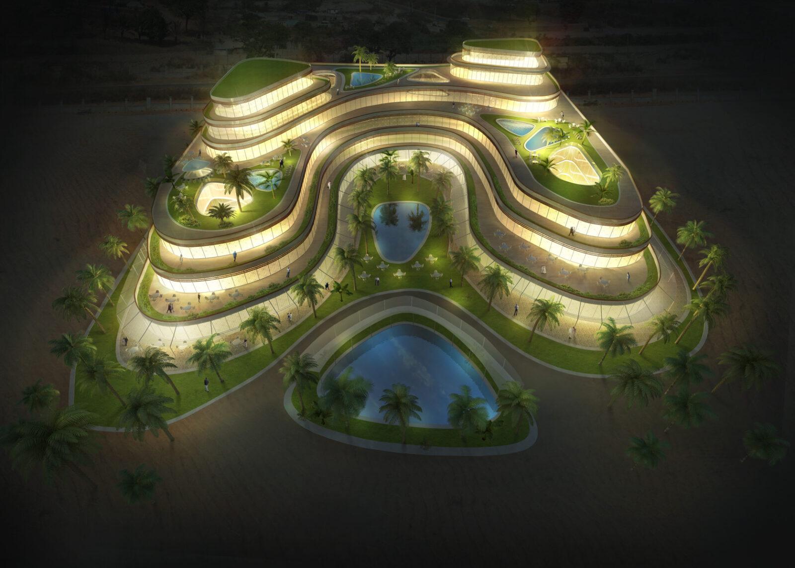 Hotel Resort im Oman